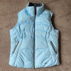 Nike Blue/Gray Reversible Puffer Vest